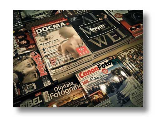 Grafica riviste e impaginazione