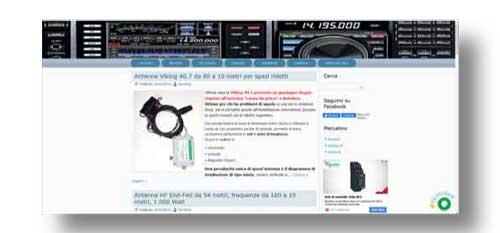 Sito web per radioamatori