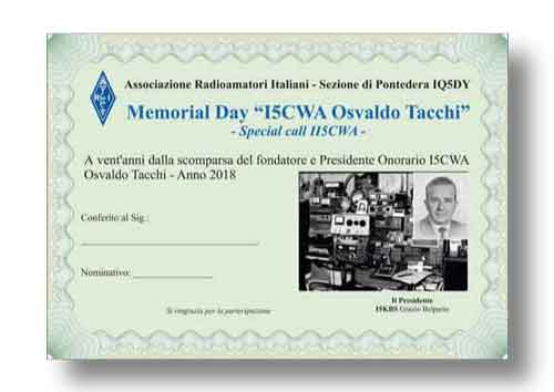 Diploma per Radioamatori